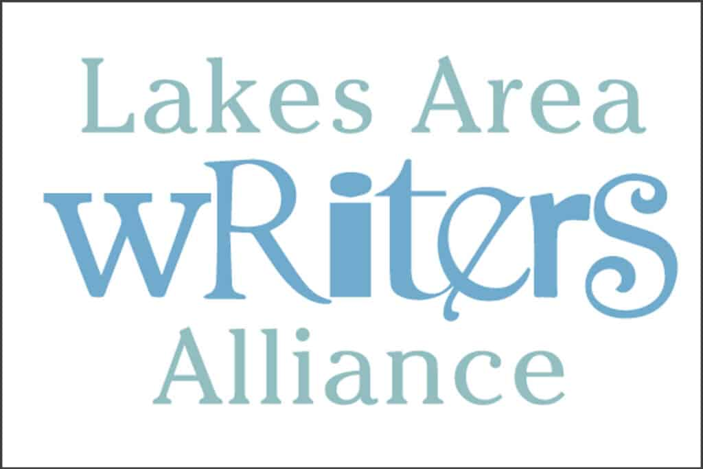 lakes area writers alliance logo
