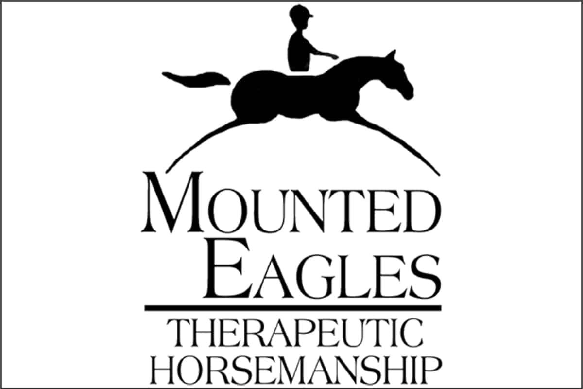 mounted eagle logo