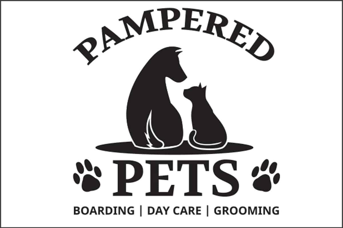 pampered pets logo