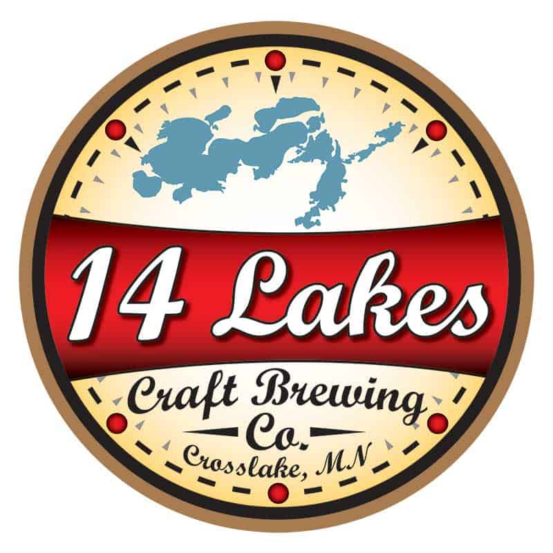 14 Lakes Craft Brewing Co Logo