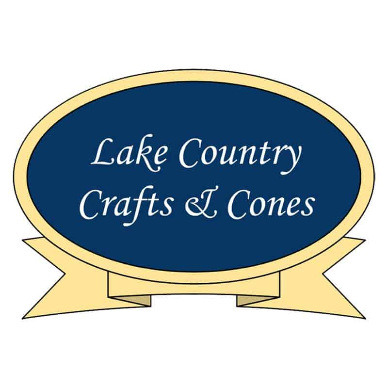 Lake Country Crafts And Cones Logo