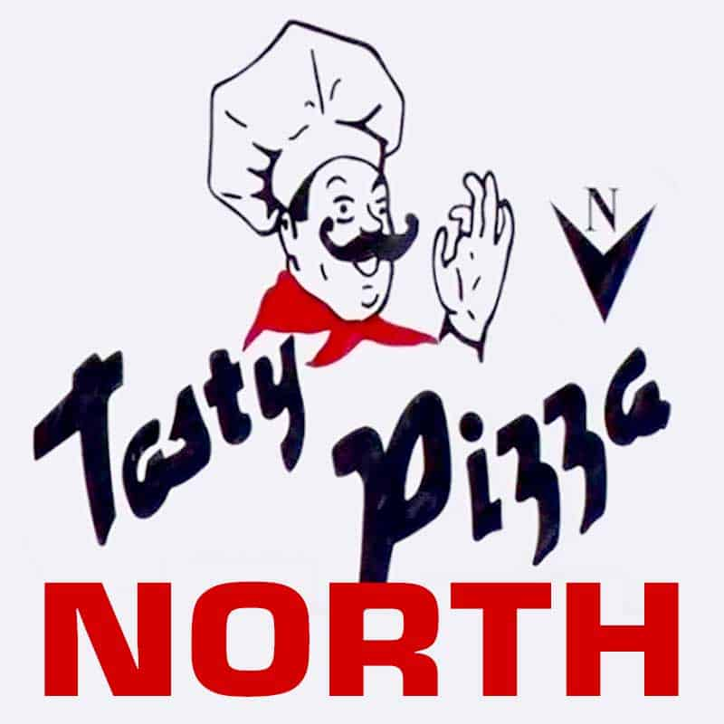 Tasty Pizza North Logo