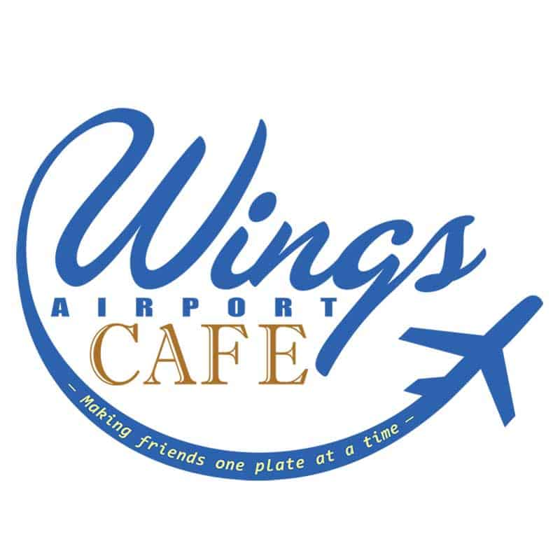 Wing Airport Cafe Logo