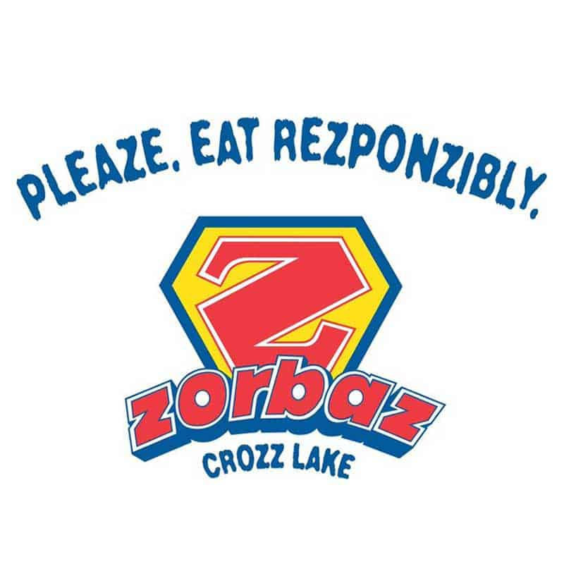 Zorbaz On Crozz Lake Logo
