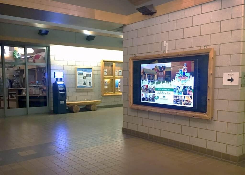 Welcome Center Digital Display