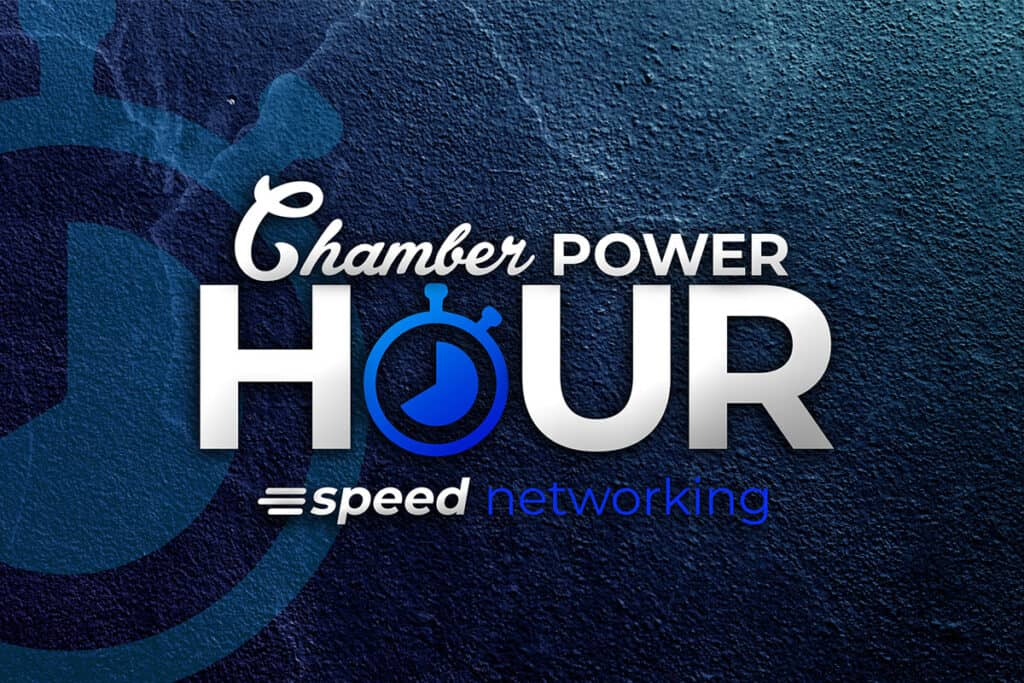 Chamber Power Hour Logo