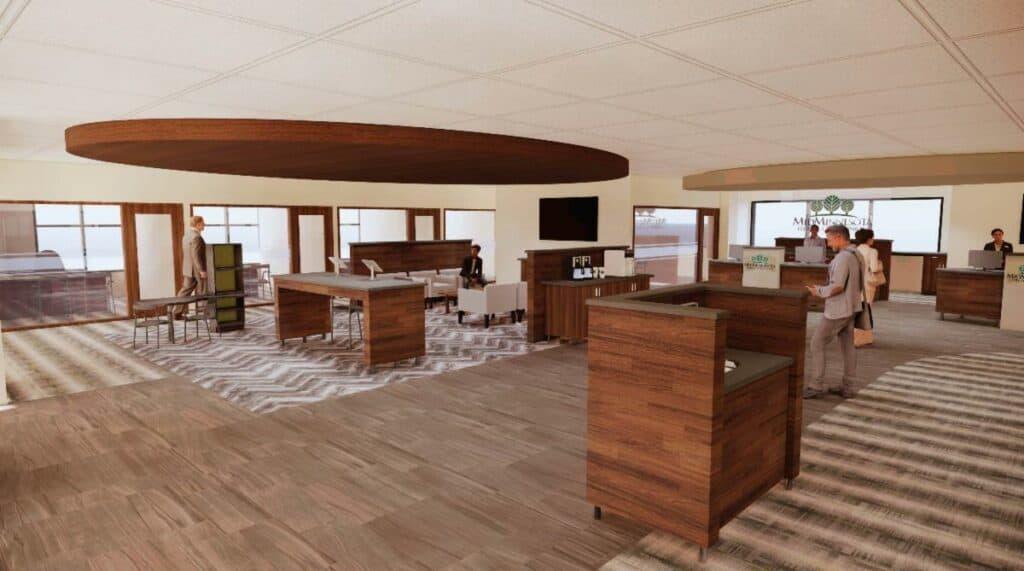 Mid Minnesota Federal Credit Union Lobby