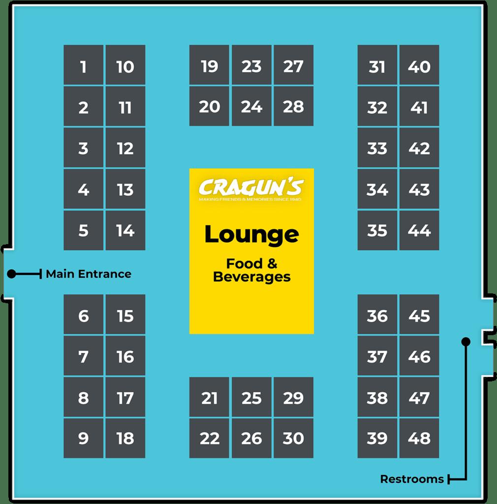 b2b Showcase Floor Plan