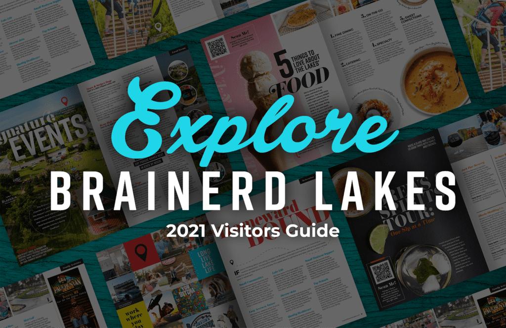 2021 Explore Brainerd Lakes Visitor Guide