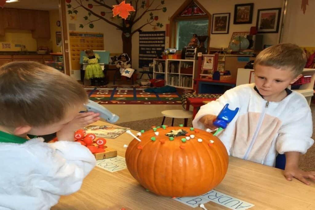 Ansel Levi Pumpkin pounding2