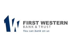 First Western Bank and Trust Logo 2x3