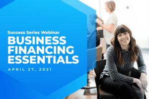 Women Business Owner Success Series Financing Graphic