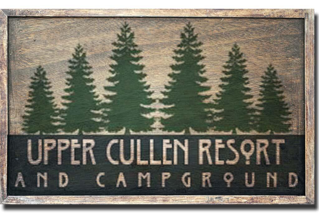 Upper Cullen Resort and Campground Logo