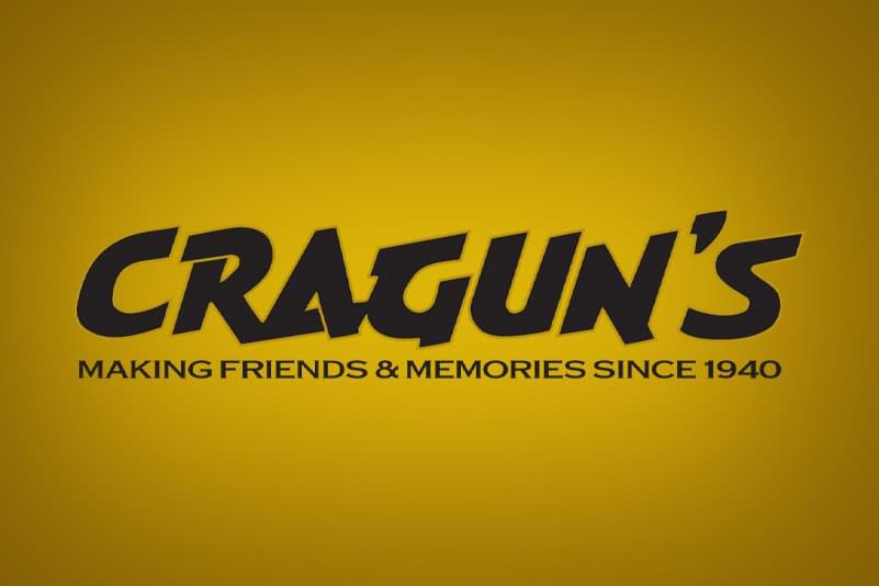 Cragun's Resort Logo with Gold Background