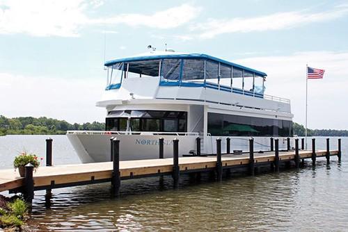 Gull Lake Cruises Party Yacht on Gull Lake