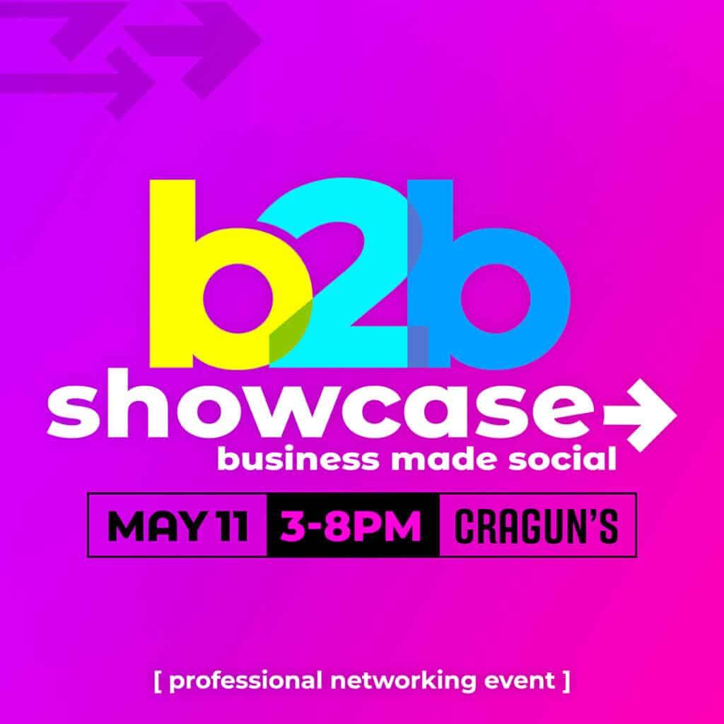 b2b Showcase Promotional Image 1080x1080px Magenta