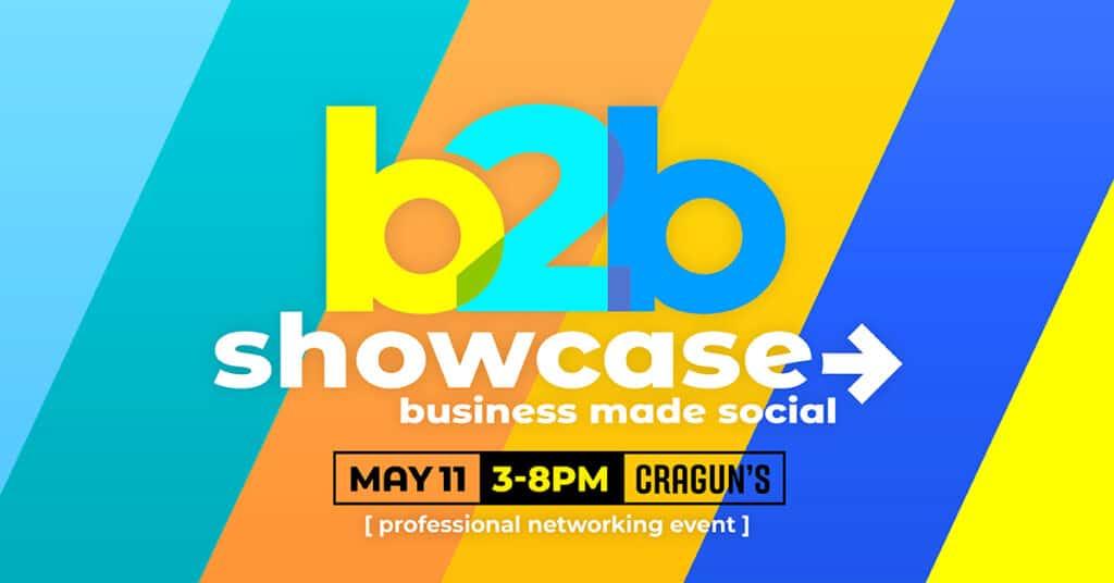 b2b Showcase Promotional Image 1200x628px Colorful