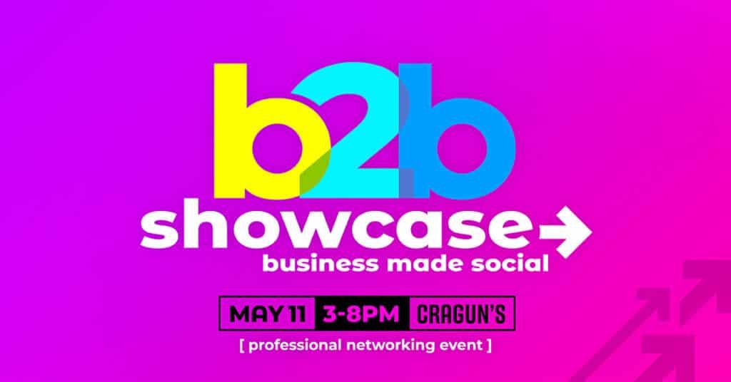 b2b Showcase Promotional Image 1200x628px Magenta