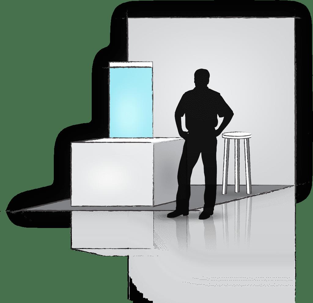 b2b Showcase Booth Example