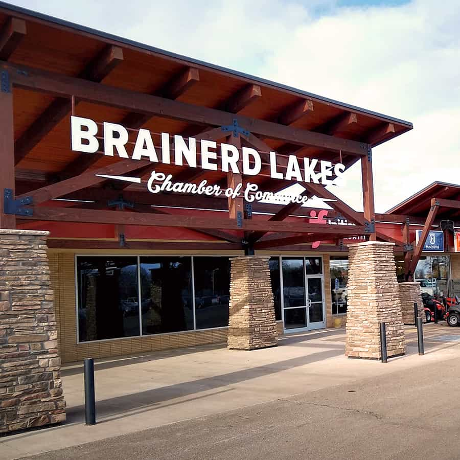 Brainerd Lakes Chamber Building Square