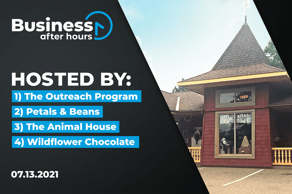 Business After Hours Graphic for Nisswa Event
