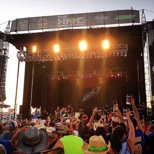 Lakes Jam concert crowd Brainerd International Raceway Square Photo